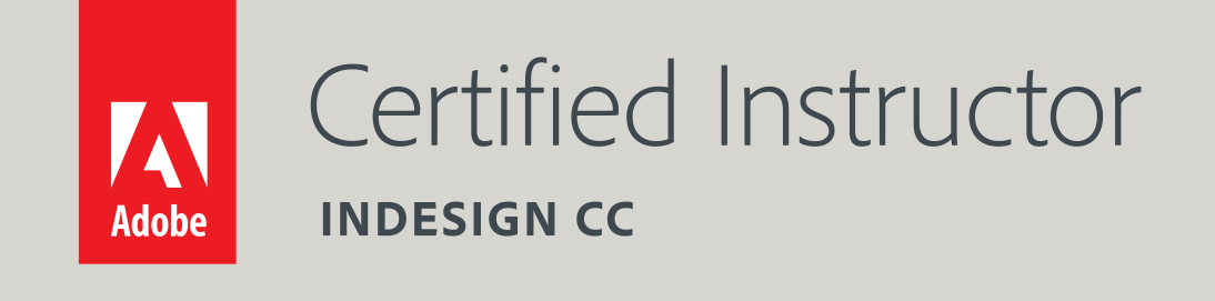 Adobe Certified Instructor InDesign CC