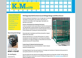K.M. Ltd., Stillage Design and Manufacture