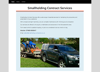 Smallholding Contract Services
