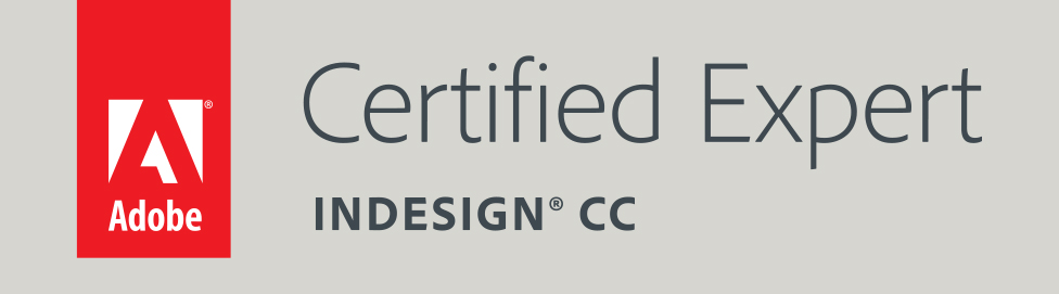 Adobe Certified Expert in InDesign CC